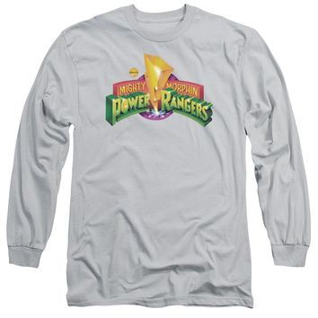 Power Rangers - Mmpr Logo Long Sleeve Adult 18/1
