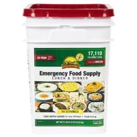 Augason Farms Emergency Food Supply Lunch & Dinner Pail