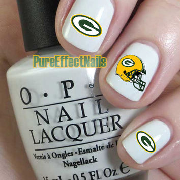 Green Bay Packers Nail Decals