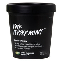 Pink Peppermint Foot Care Cream by Lush 7.9 oz