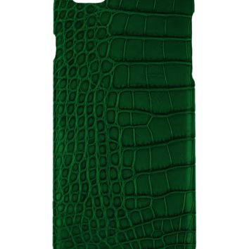 IPhone 6 Plus Case Alligator Green