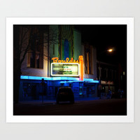 Boulder Theater Art Print by Andrew C. Kurcan