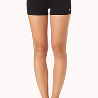 Contrast Yoga Shorts