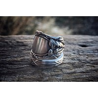 1907 Abbotsford Sterling Spoon Ring