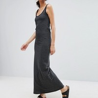 Vero Moda Stripe Jersey Maxi Dress at asos.com