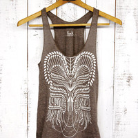 Eden Tank - womens tri-blend tank - by Bark Decor