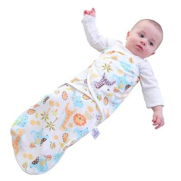 Newborn 0-6M Baby Envelope Cotton Soft Breathable Cocoon Sleeping Bag Small Bebe Kids  Swaddle Blanket Sleepsack Baby bedding