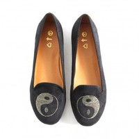 Missguided - Delie Ying Yang Slipper Shoes