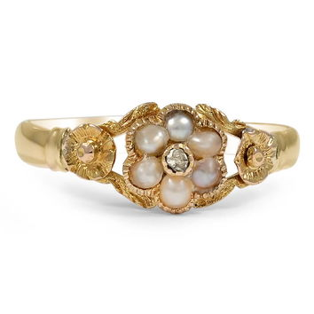 18K Yellow Gold The Georgi Ring