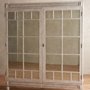 Tracey Boyd Mirelle Armoire in White Size: One Size Furniture