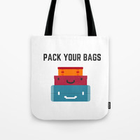 PACK YOUR BAGS Tote Bag by Love from Sophie