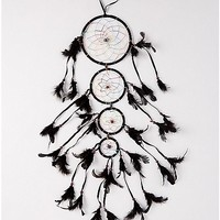 Black Feather Dream Catcher - Spencer's