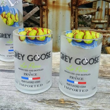 Grey Goose Pear Vodka Glass Set