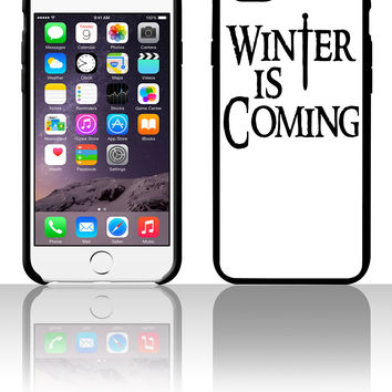 Winter Is Coming 5 5s 6 6plus phone cases