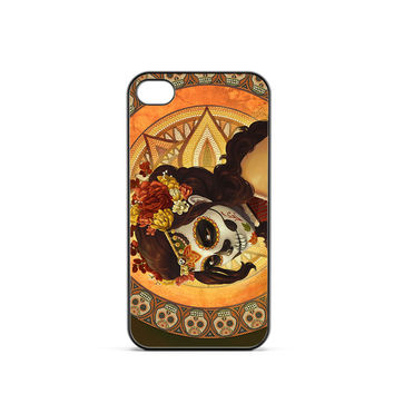 Day of The Dead Artwork iPhone 4 / 4s Case