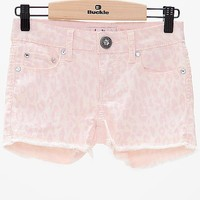 Women's Girls - Cheetah Print Shorts in Pink by Daytrip.