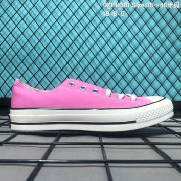 AUGUAU Converse 2018 Global 1970S Low Canvas Skate Shoes Pink