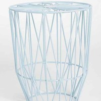 Plum & Bow Wire Burst Stool- Sky One
