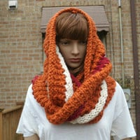 Ready to Ship - Infinity Scarf - Knit Scarf - Womens Scarf - The Windy City Scarf