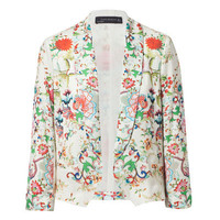 SHORT PRINTED BLAZER - Blazers - Woman - ZARA United Kingdom