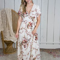 Rome Ready Maxi Dress, Cream