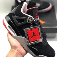 Nike Air Jordan 4 Retro AJ4 cheap Men's and women's nike shoes