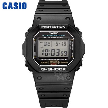 Casio watch Fashion sports waterproof men's watches DW-5600E-1V DW-5600HR-1