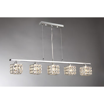 Sandra Crystal Pool Table Light