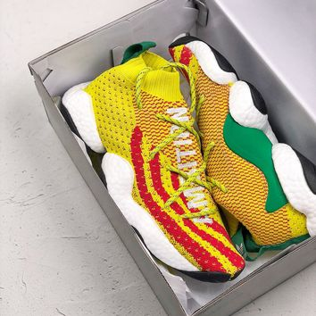 """[ Free  Shipping ]Adidas Crazy BYW Pharrell Williams """"Ambition"""" - F97226 Running Sneaker"""
