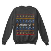 KUYOU Allons-y! Tenth Doctor Who Ugly Sweater