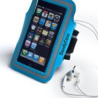 DandyCase Blue Non-Slip Protective Gym Jogging Sports Armband Case Cover for Apple iPhone 5S / 5 / 5C
