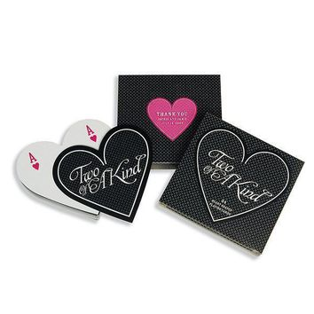 Heart Shaped Playing Cards Favor in Box (Pack of 1)