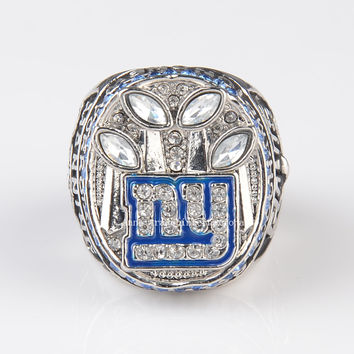 new arrival 2011 New York Giants championship ring ny giants Super Bowl Replica Rings for Fans size free shipping