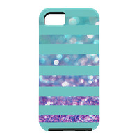 Lisa Argyropoulos Tango Frost Stripes Cell Phone Case