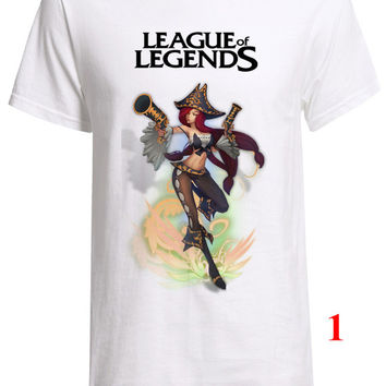 New League of legends Champion Nami shirt  Great looking Custom Fruit of the loom T-Shirt Sizes S M L XL XXL