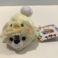 Disney Store Japan Rooster Year Chip Mini Tsum Plush New with Tags
