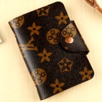 LV Louis Vuitton Ms. Bank Card Set Credit Card Package Business Card Holder Card Pack