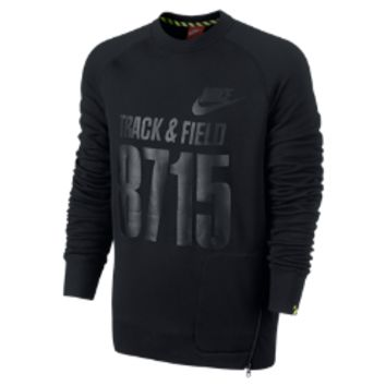 Nike AW77 Track and Field Fly Crew Men's Sweatshirt