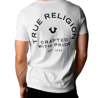 True Religion Crafted With Pride Mens Tee - White