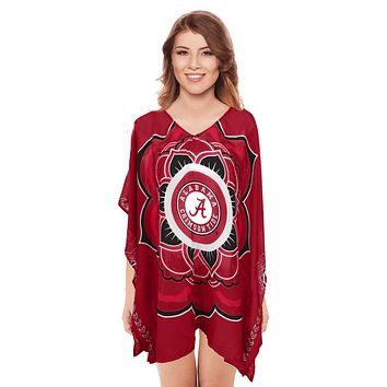 Limited Edition, Officially Licensed Alabama Crimson Tide Caftan One Size / Crimson