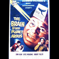The Brain from Planet Arous Vintage Cinema Fridge Magnet Retro Sci-Fi Fun Movie Poster Science Fiction Lover Gift