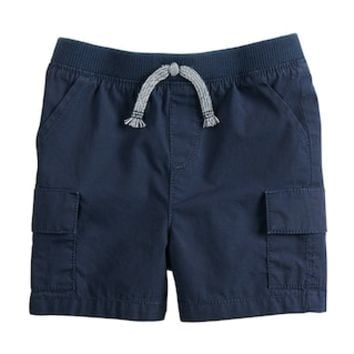 Baby Boy Jumping Beans® Poplin Pieced Cargo Shorts | null