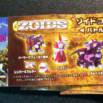 Tomy Zoids Gashapon Capsule Trading Collection Part 6 8 Mini Figure Set