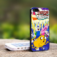 Adventure Time Finn And Jake iPhone 5 Case, iPhone 4 Case, iPhone 4s Case, iPhone 4 Cover, Hard iPhone 4 Case