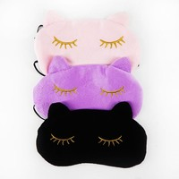 Sleepy Kitten Eye Mask
