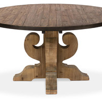 Dining Table, Burks Round Table
