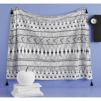 Tia Tribal Aztec Pattern Cotton Wall Bed Tapestry