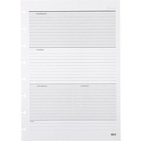 "M by Staples™Arc System Undated Premium Refill Paper, White, 5-1\/2"" x 8-1\/2\"" 