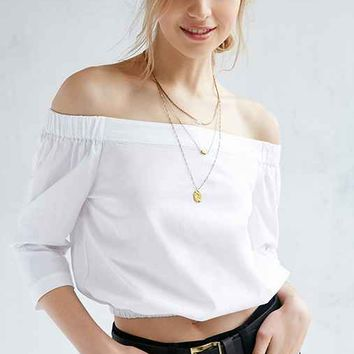 Silence + Noise Hamlin Off-The-Shoulder Top