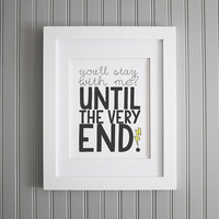 Harry Potter Quote, Inspiration and Wall Art, Motivation Art Print, Motivation Wall Poster, Home Decor, 8 x 10